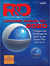 R&D magazine cover from Jan/Feb 2016